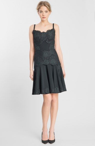 ce1dc727f6d6 Dolce Gabbana Lace Appliqué Drop Waist Dress available at  Nordstrom ...