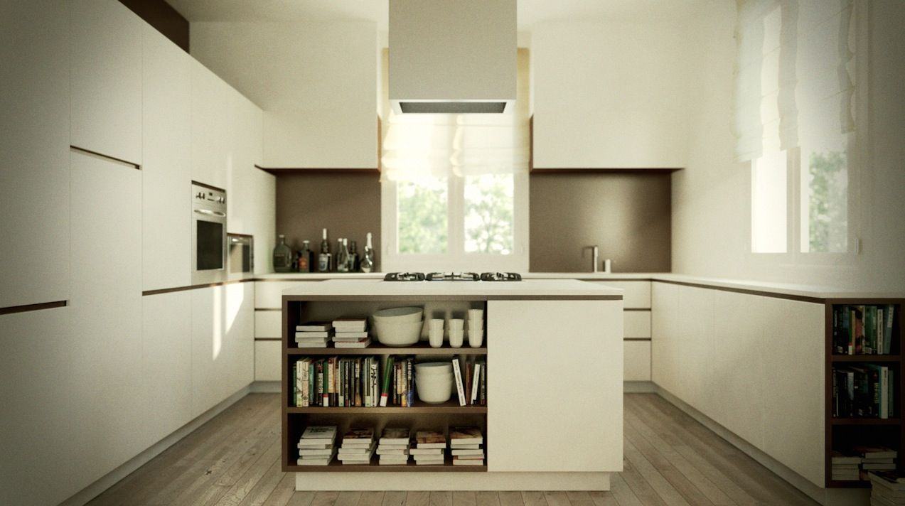 35 Reasons To Choose Luxurious Contemporary Kitchen Design ...