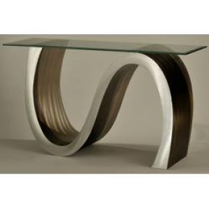 Nova Lamps Meandering Gl Top Console Table Entry