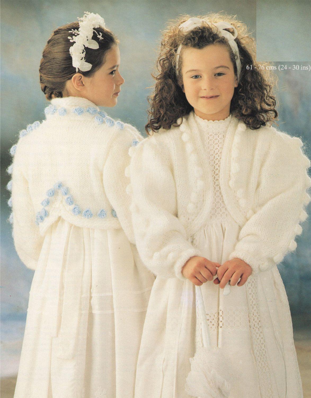 Girls bolero pdf knitting pattern childrens 24 26 26 28 and girls bolero pdf knitting pattern childrens 24 26 26 28 and 28 ombrellifo Choice Image