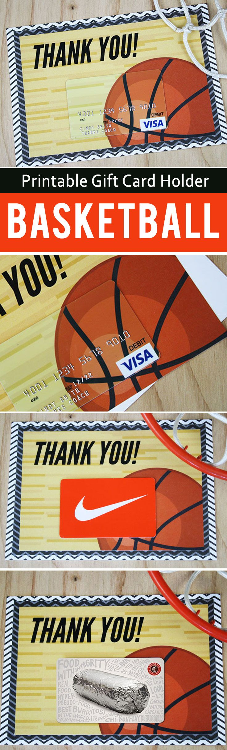 Free Printable This Basketball Gift Is A Slam Dunk Printable Gift