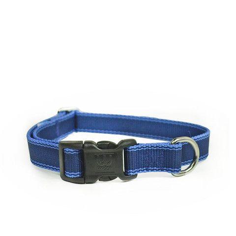 Stripe Hype Collar Navy // waggo.com