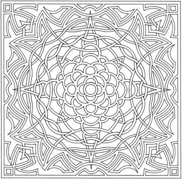 dover publications coloring pages printable |… | Coloring Adult ...