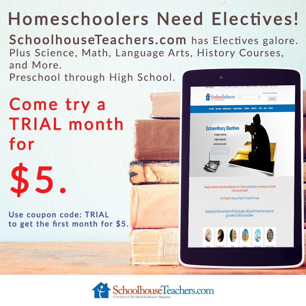 High School Electives For Homeschoolers: A Huge Resource