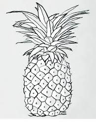 18++ Pineapple with sunglasses clipart black and white information