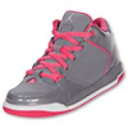 Grey and pink jordans love them