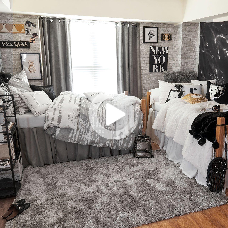 16 Incredibili Dormitorio Trasformazioni Che Renderanno La Vostra Mascella Ha Colpito Il Pavimento College Dorm Room Decor Dorm Room Designs Cool Dorm Rooms