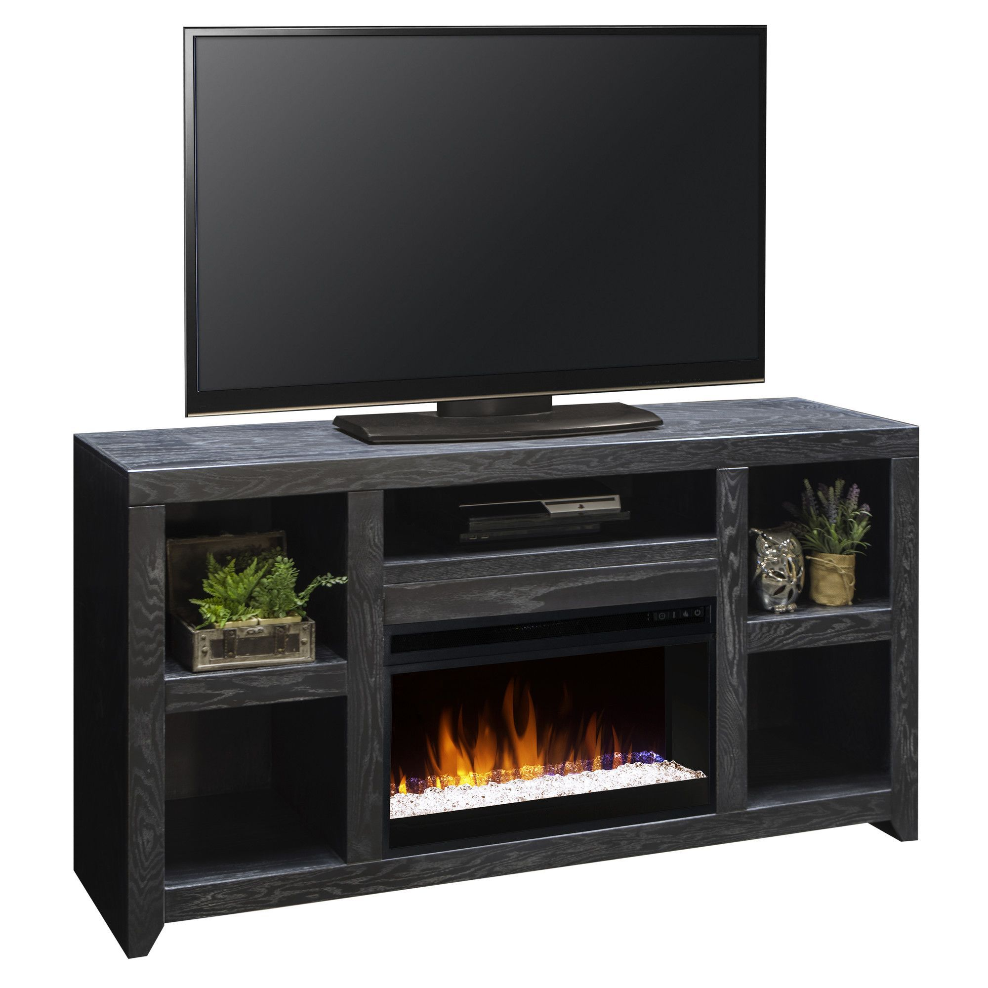 keystone tv stand with electric fireplace fireplaces pinterest