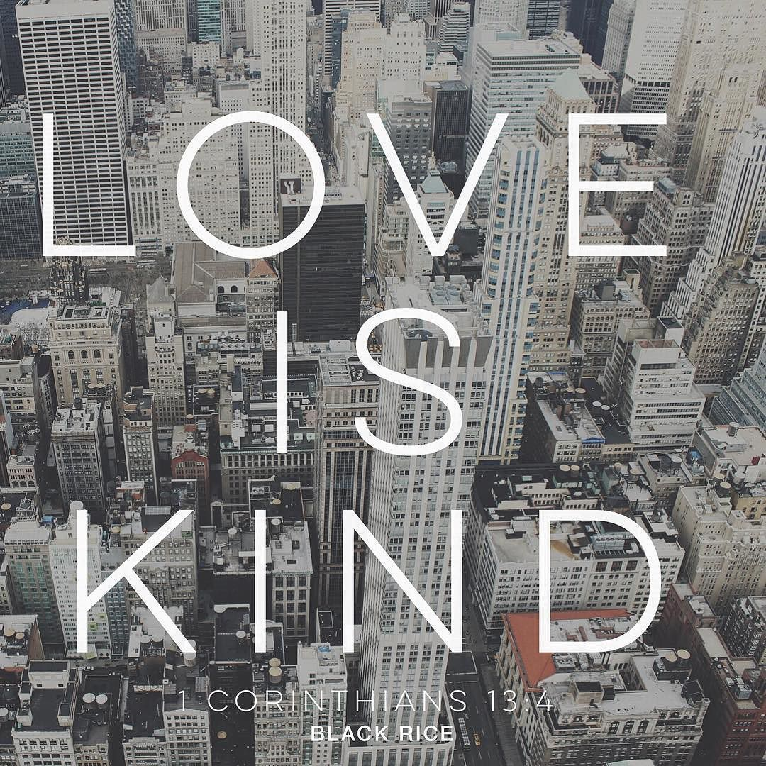 Love is patient and kind love does not envy or boast it