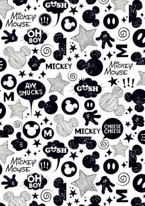 Black And White Fondos Mickey Mickey Mouse Wallpapers Fondos De