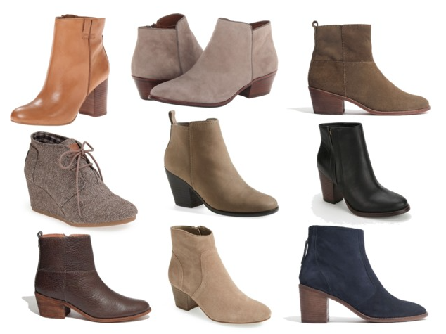 Fall Trend: Ankle Boots | booties | Pinterest | More Ankle boots ...