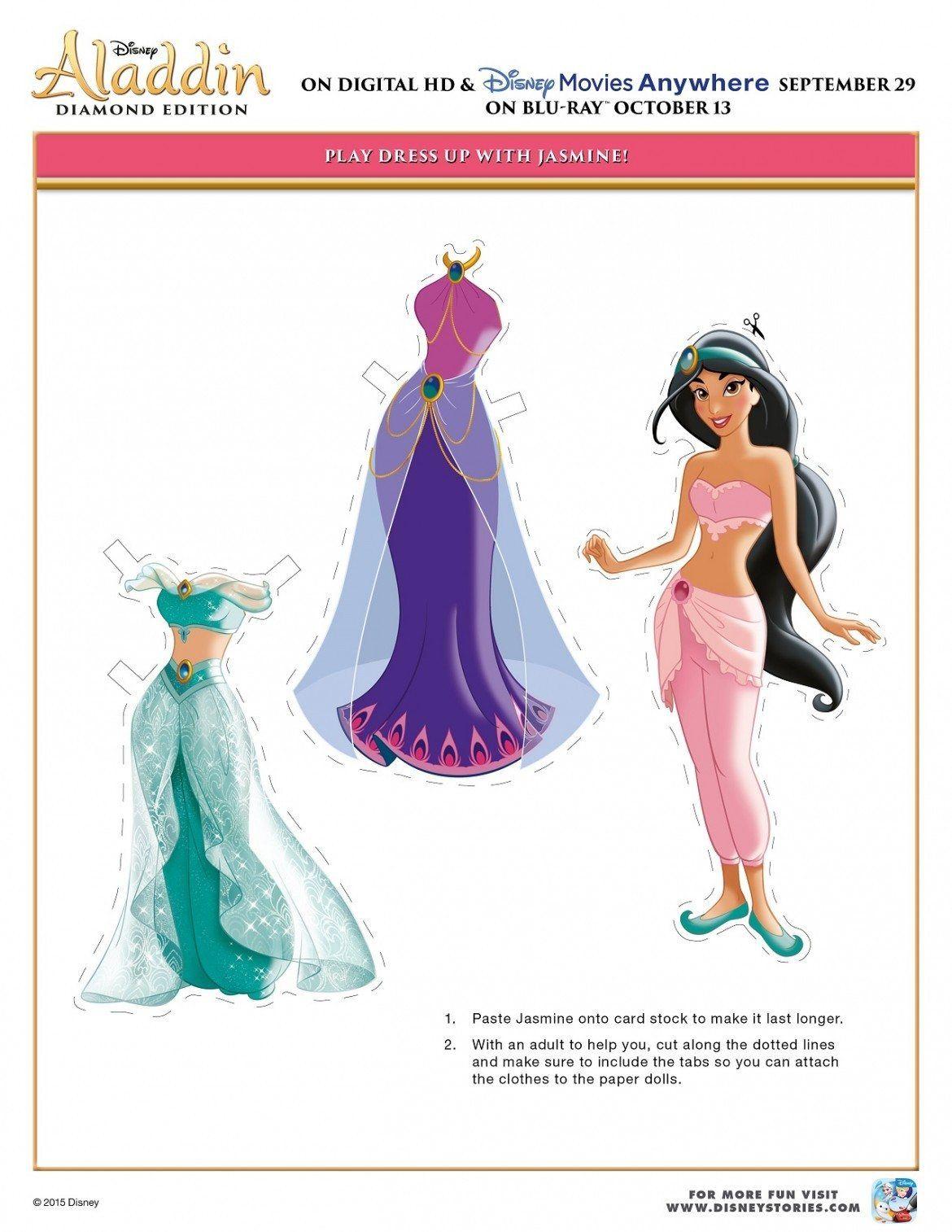 Free Printable Disney Aladdin Activity Sheets Diamond