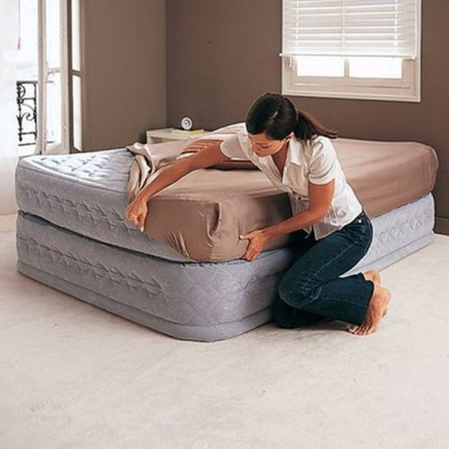 Le lit gonflable confort suprªme INTEX Prªt en 2  3 minutes ce