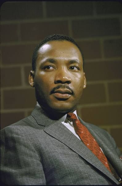 Martin Luther King Jr Pictures Color