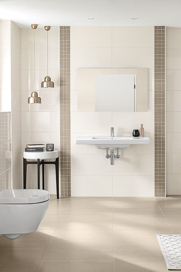 Villeroy & Boch Ground Line Bodenfliese 30x60 creme in