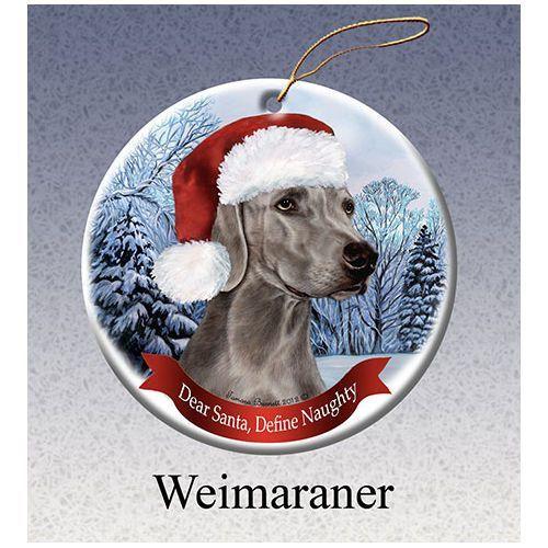 Yellow Labrador Lab Dog Porcelain Ornament Pet Gift /'Santa. I Can Explain!