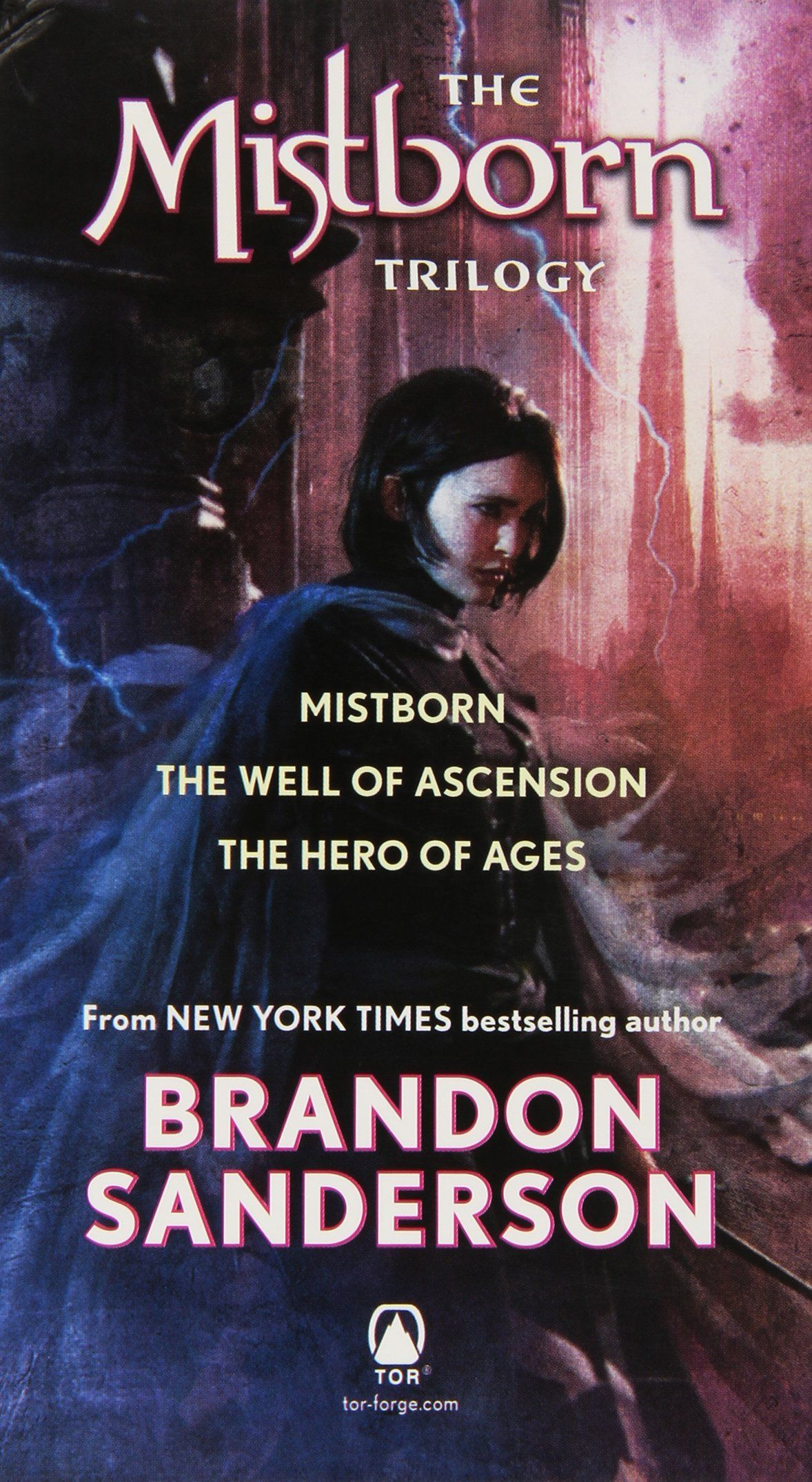 Mistborn Trilogy Boxed Set Mistborn The Hero Of Ages The Well Of Ascension Brandon Sanderson 9780765365439 Amazon Com Bo Fantasy Books Trilogy Boxset