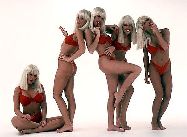 Alone! Swedish bikini team girls opinion you