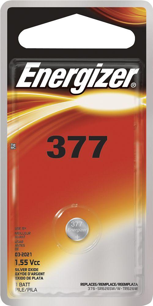 Energizer - 377 Battery - Silver