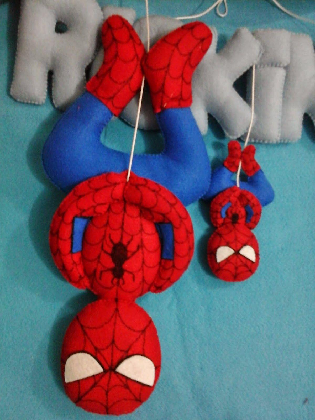 homem aranha de feltro - Pesquisa Google | Super Heróis | Pinterest