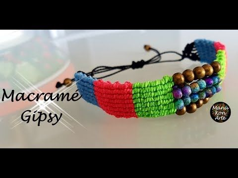 DIY Tutorial Macrame GIPSY - YouTube