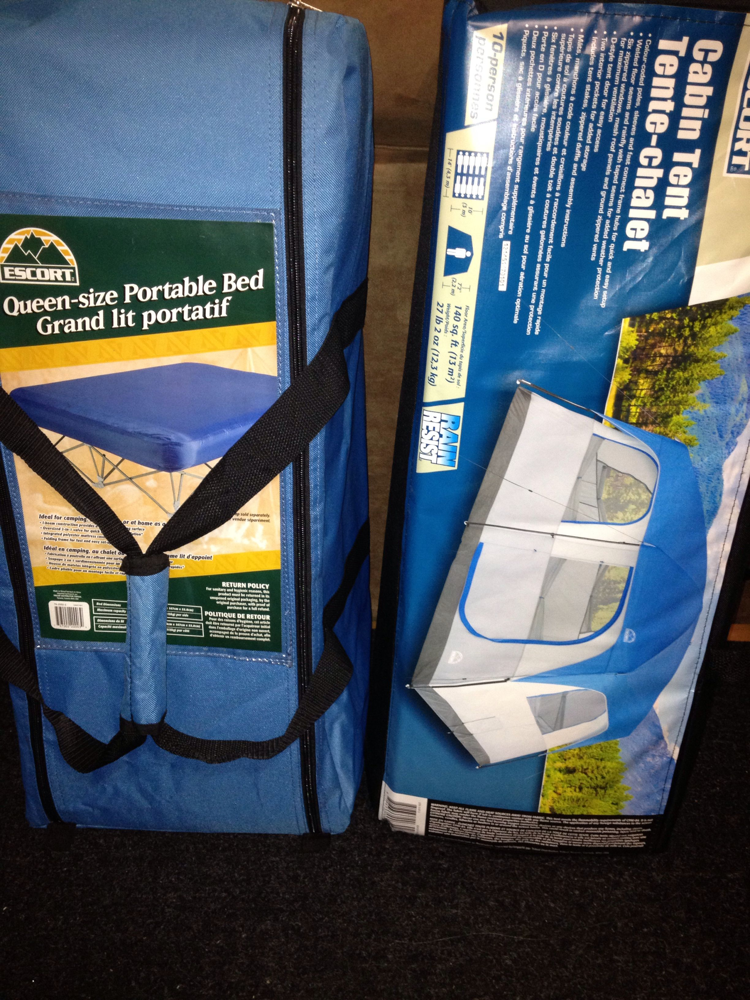 supplies Escort camping