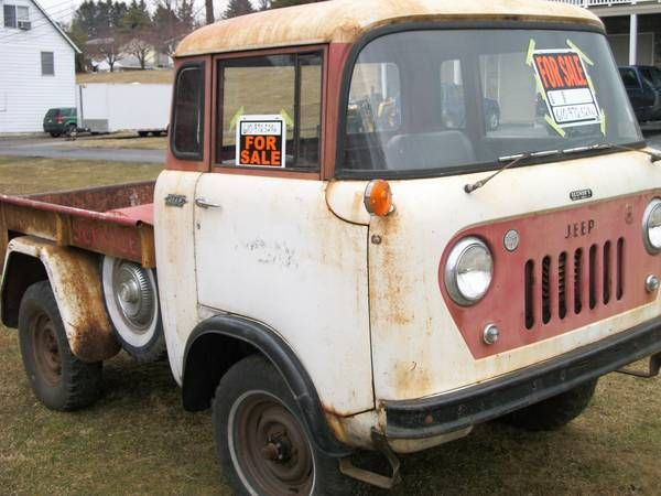 Cabover Jeep Pickup For Sale