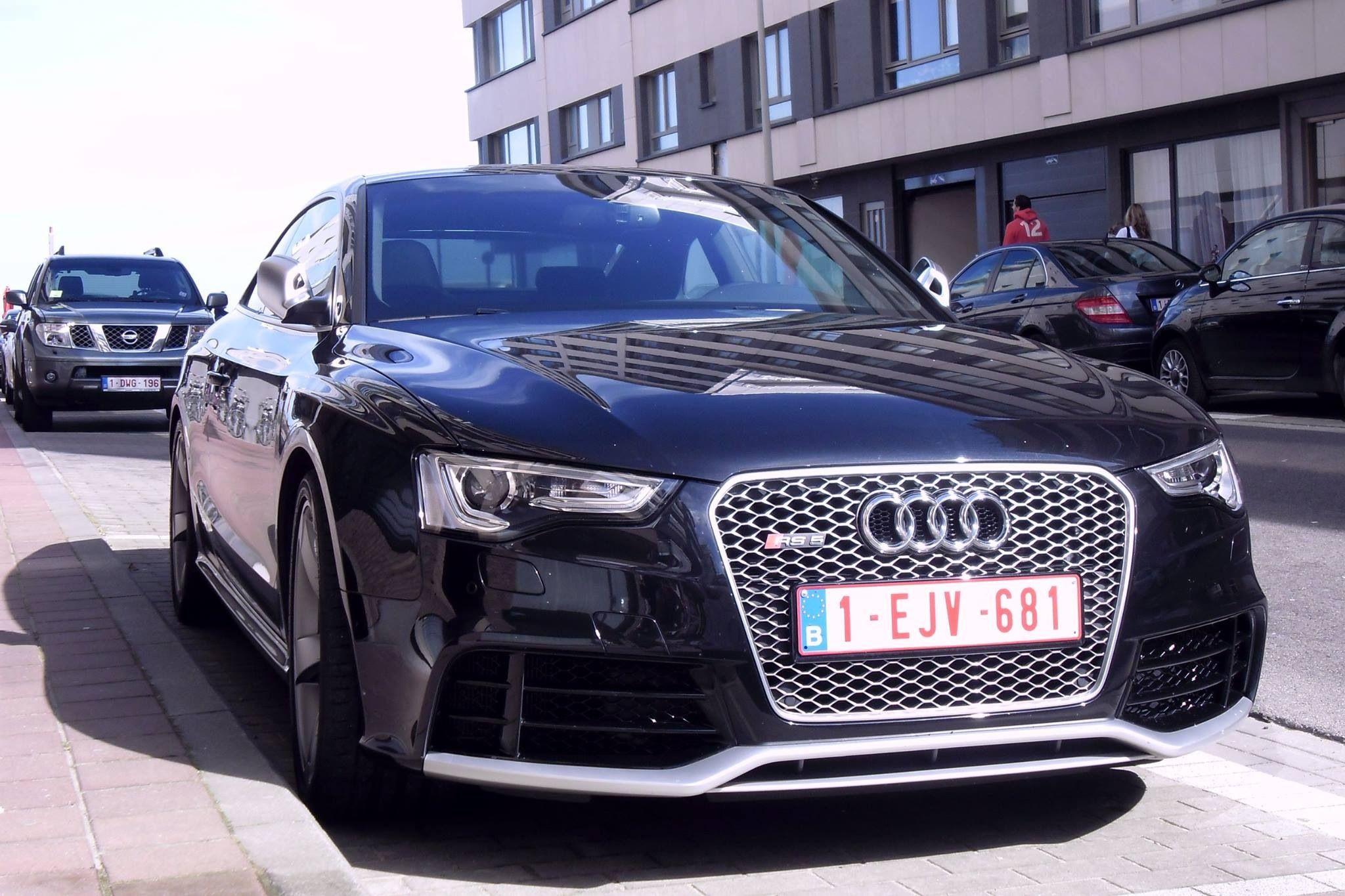 Audi RS5 Knokke Belgium Spotted cars Pinterest