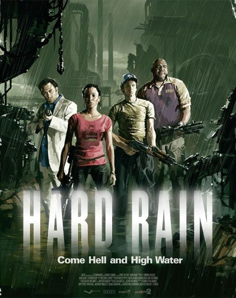 Left 4 Dead 2: Hard Rain  This one is my scariest but my