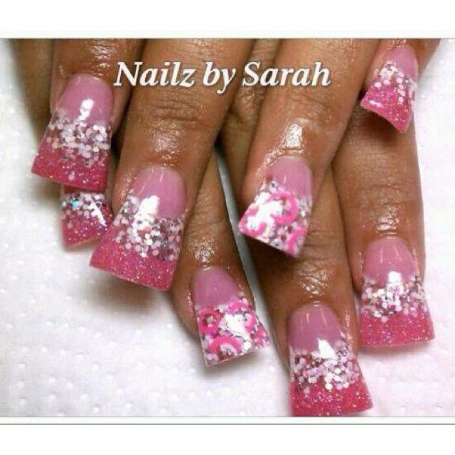 Acrylic nails | Nails By Sarah | Pinterest | Acrylics, Nail nail and ...