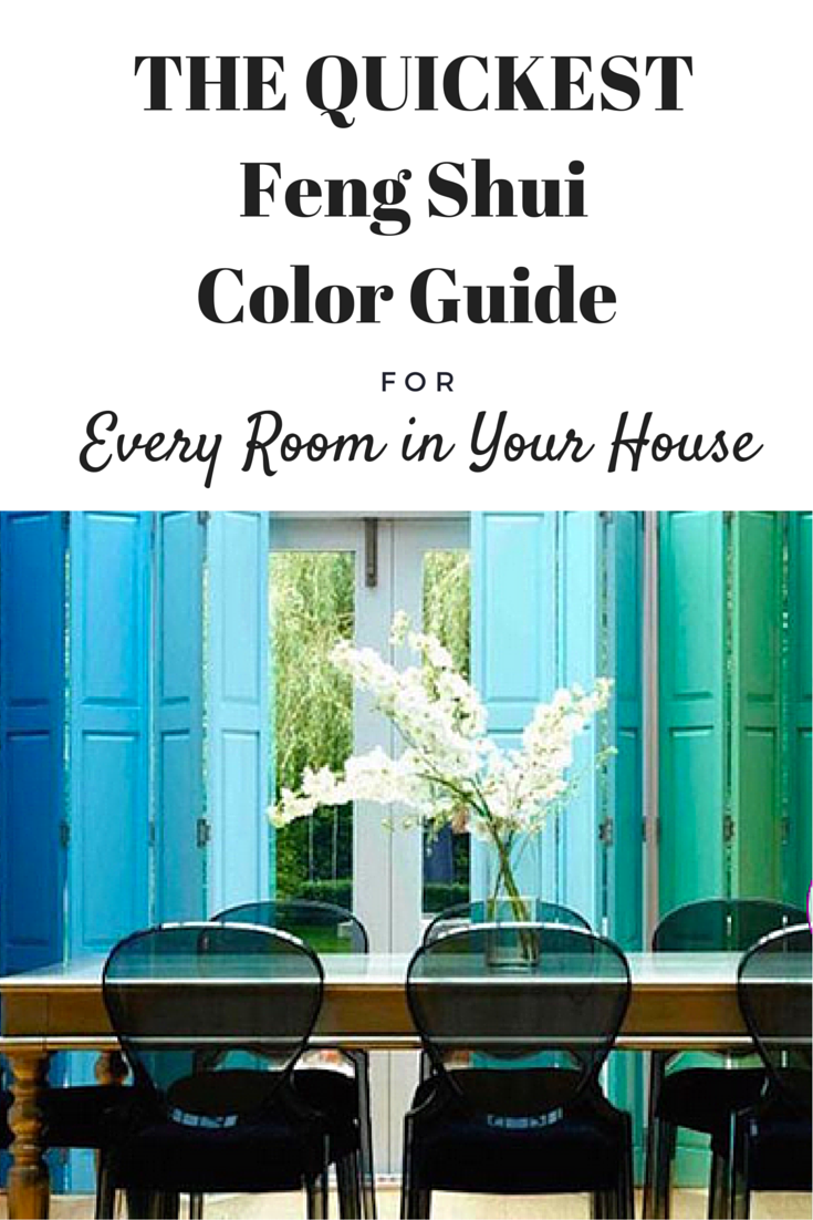 What Colors To Decorate Every Room According To Feng Shui Feng