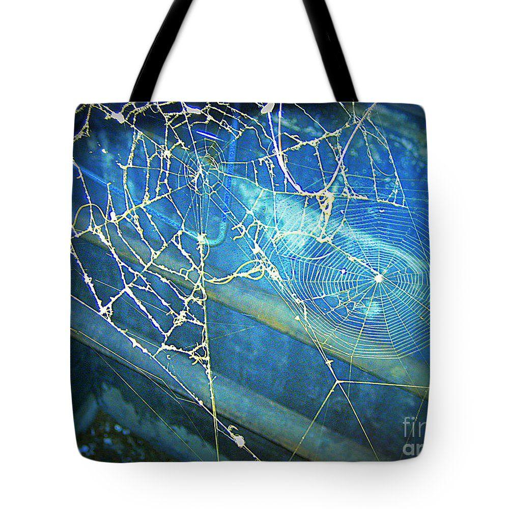 New Art Len Stanley Yesh Webs Tote Bag featuring the photograph Webs by Len-Stanley Yesh