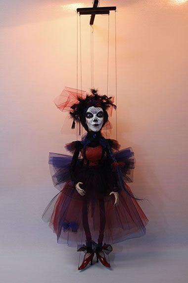 marionette puppet marioneta títere art doll ooak marionettes puppets marionetas… http://puppet-master.com - THE VENTRILOQUIST ASSISTANT