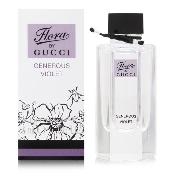 289c12beaa8 Buy Gucci Women s Perfumes - Gucci Flora Generous Violet for Women 0.16 oz Eau  de Toilette