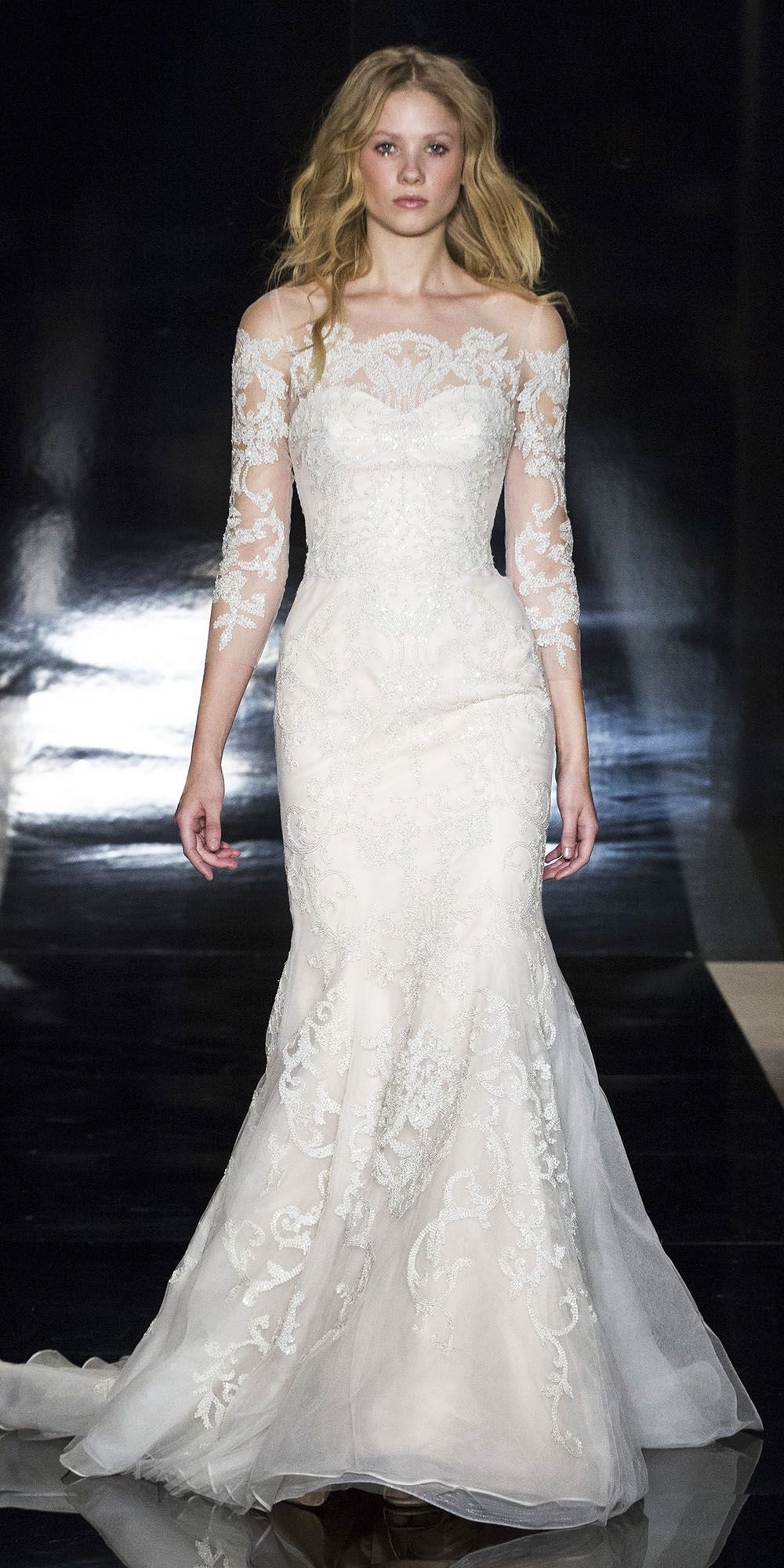 The prettiest spring wedding dresses from bridal fashion week
