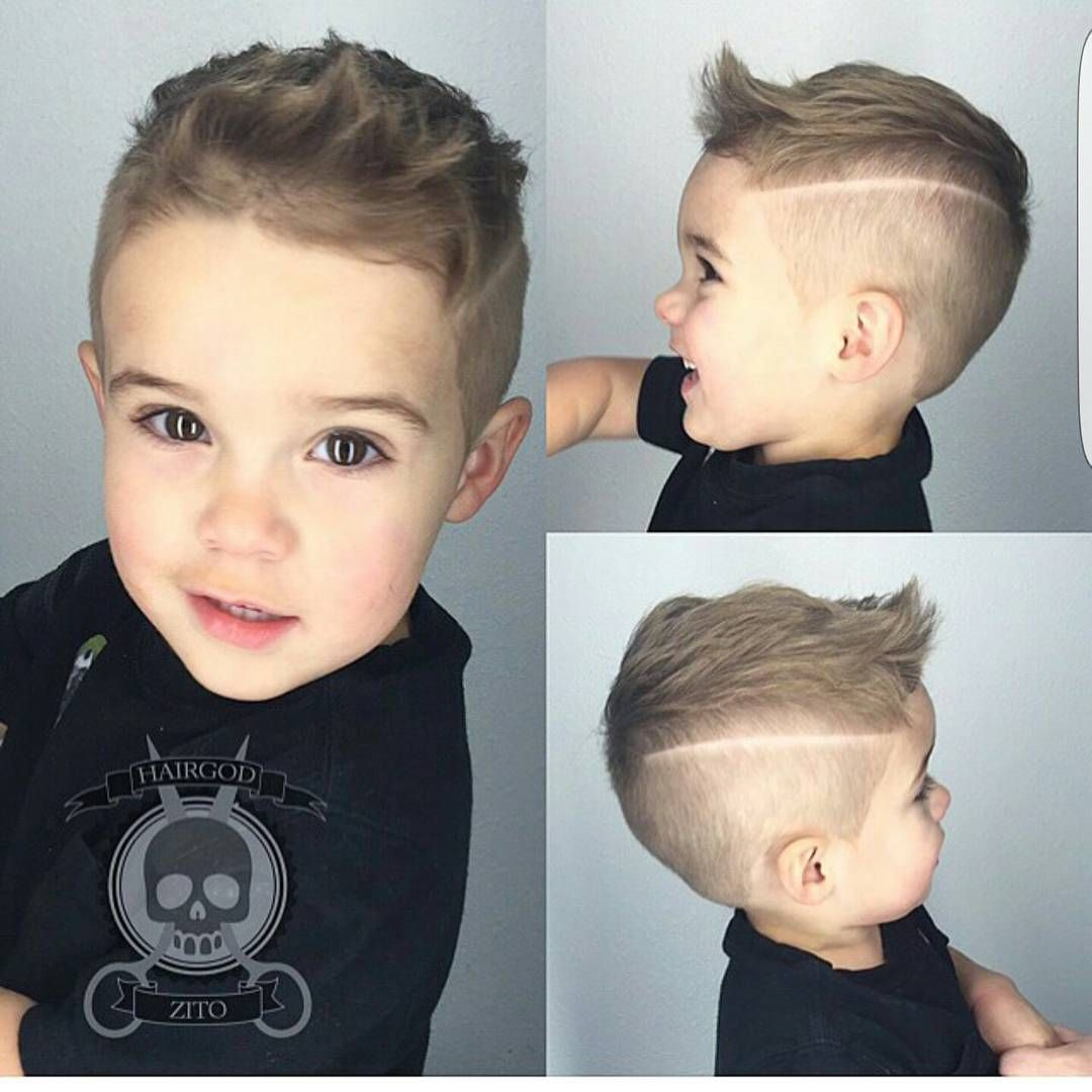 Mens Hairstyle 23 Trendy And Cute Toddler Boy Haircuts: Hairstyles And Makeup