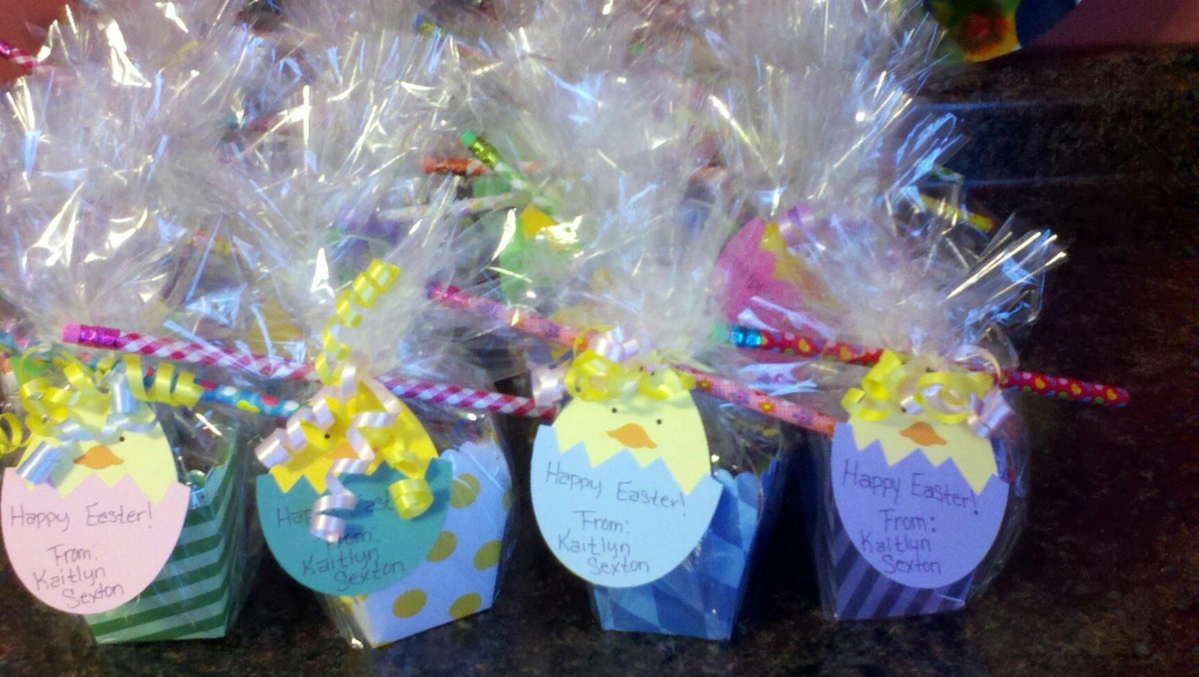 Easter goodie bags made for my childrens class all cut from my easter goodie bags made for my childrens class negle Gallery