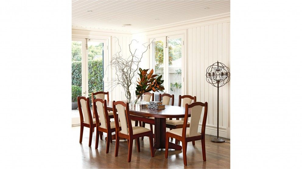 Carol Vada 9 Piece Double Extension Dining Setting Dining