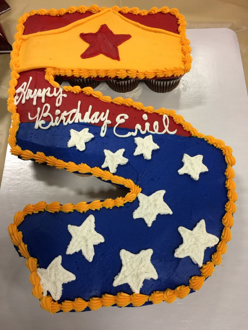 DIY Inspiration Wonder Woman Number Cake GirlSuperHero Target