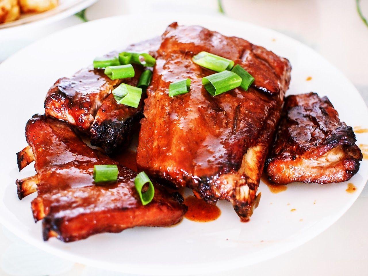 Phillips Air Fryer Recipe Air Fry BBQ Pork Rib Air