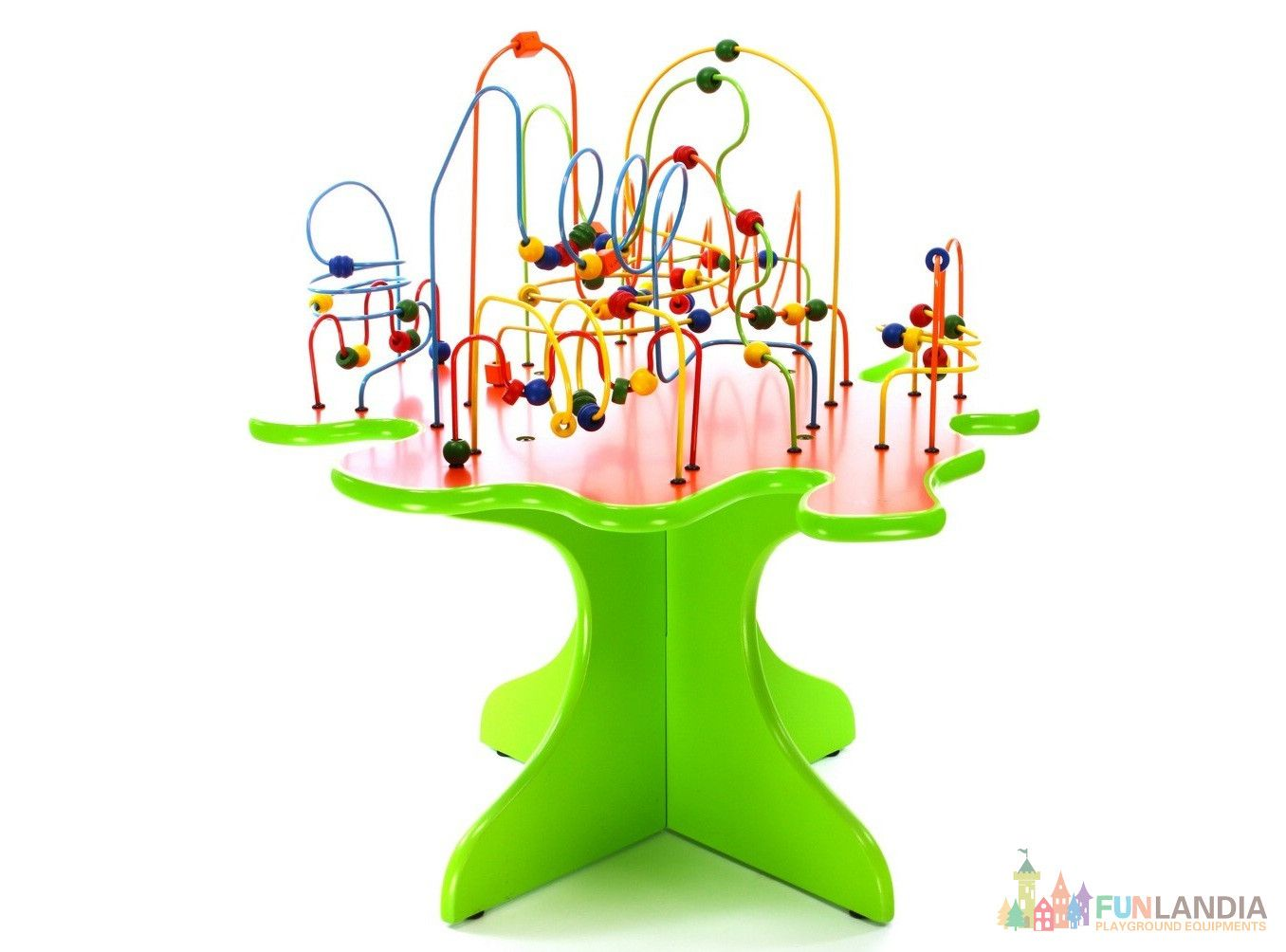 Beads Maze Table Kids Play Area