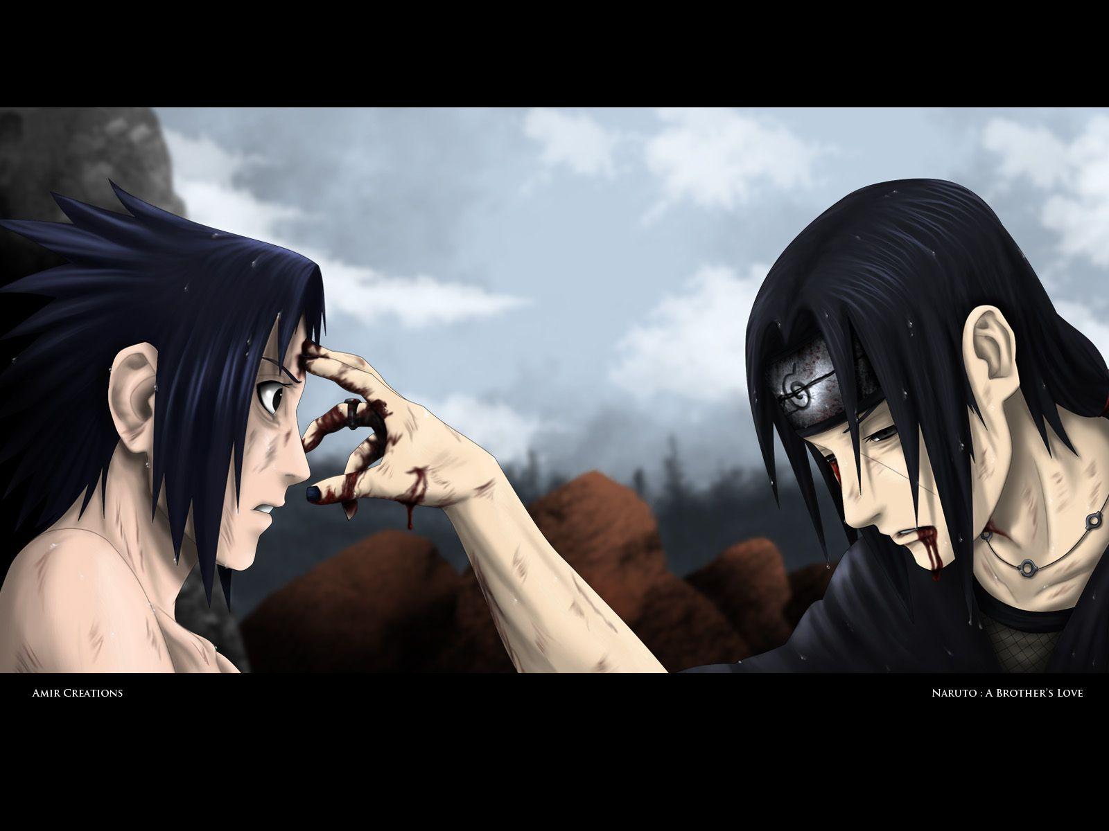 Anime Naruto Sasuke Uchiha Itachi Uchiha Wallpaper Naruto