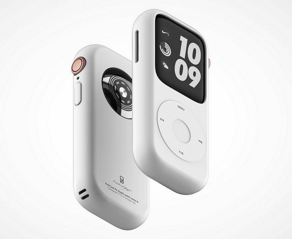 Pod Case for Apple Watch Series 4 (With images) Apple