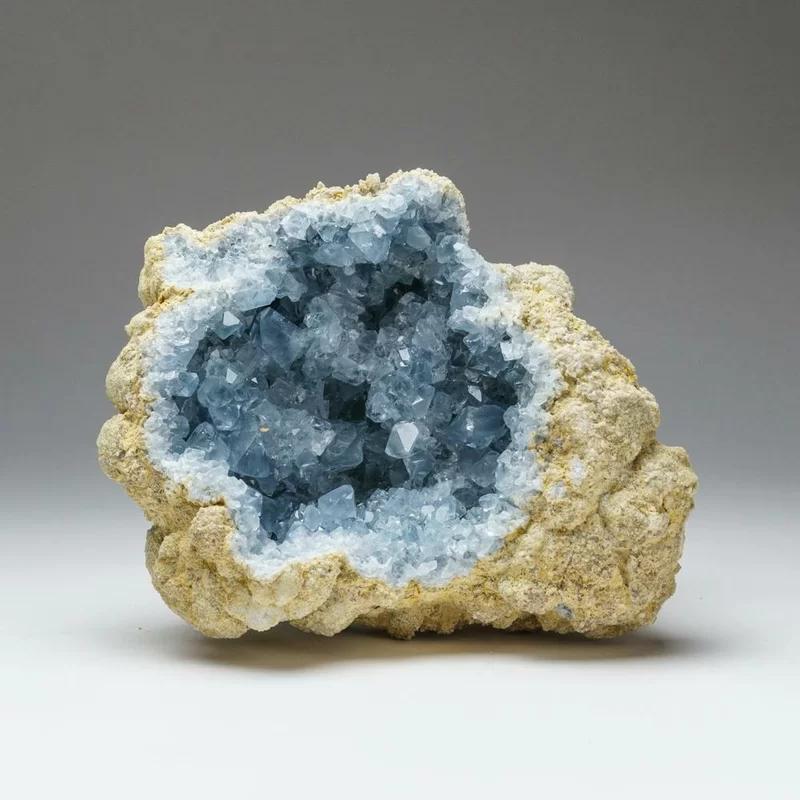 Astro Gallery Of Gems Celestite Cluster Geode Wayfair In 2020 Celestite Geode Large Crystals