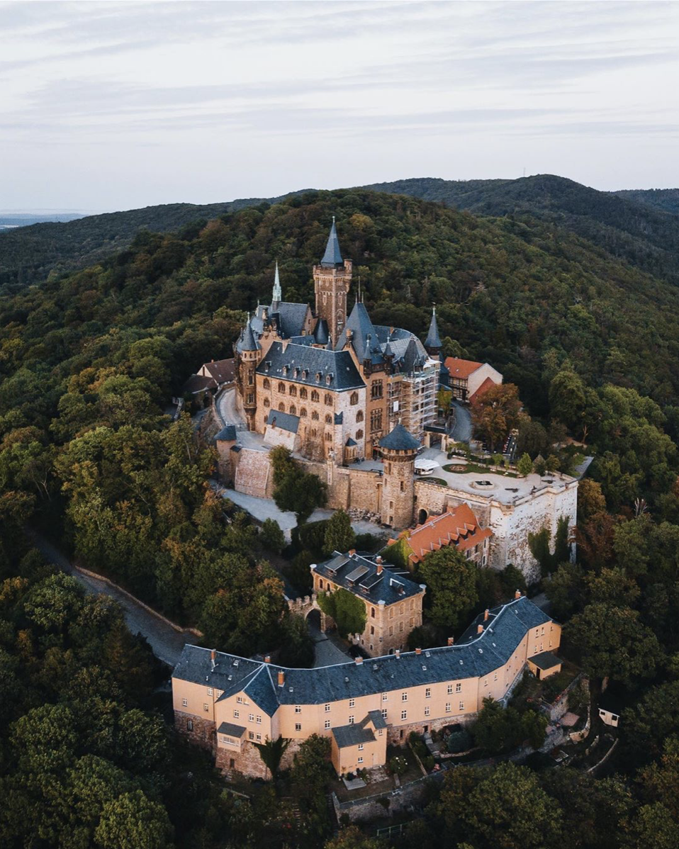 Wernigerode, Germany in 2020 Peles castle, Castle on the