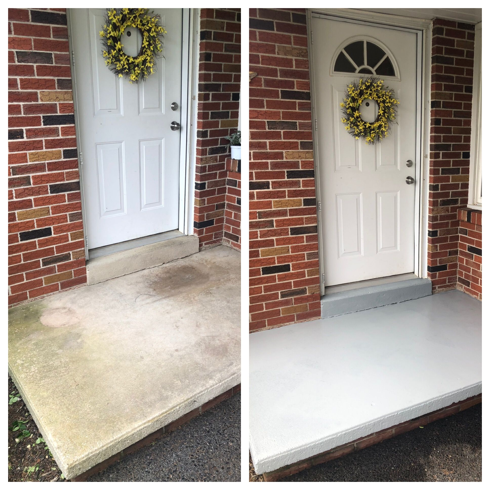 Painting Concrete Painted Concrete Porch Porch Paint Concrete Porch