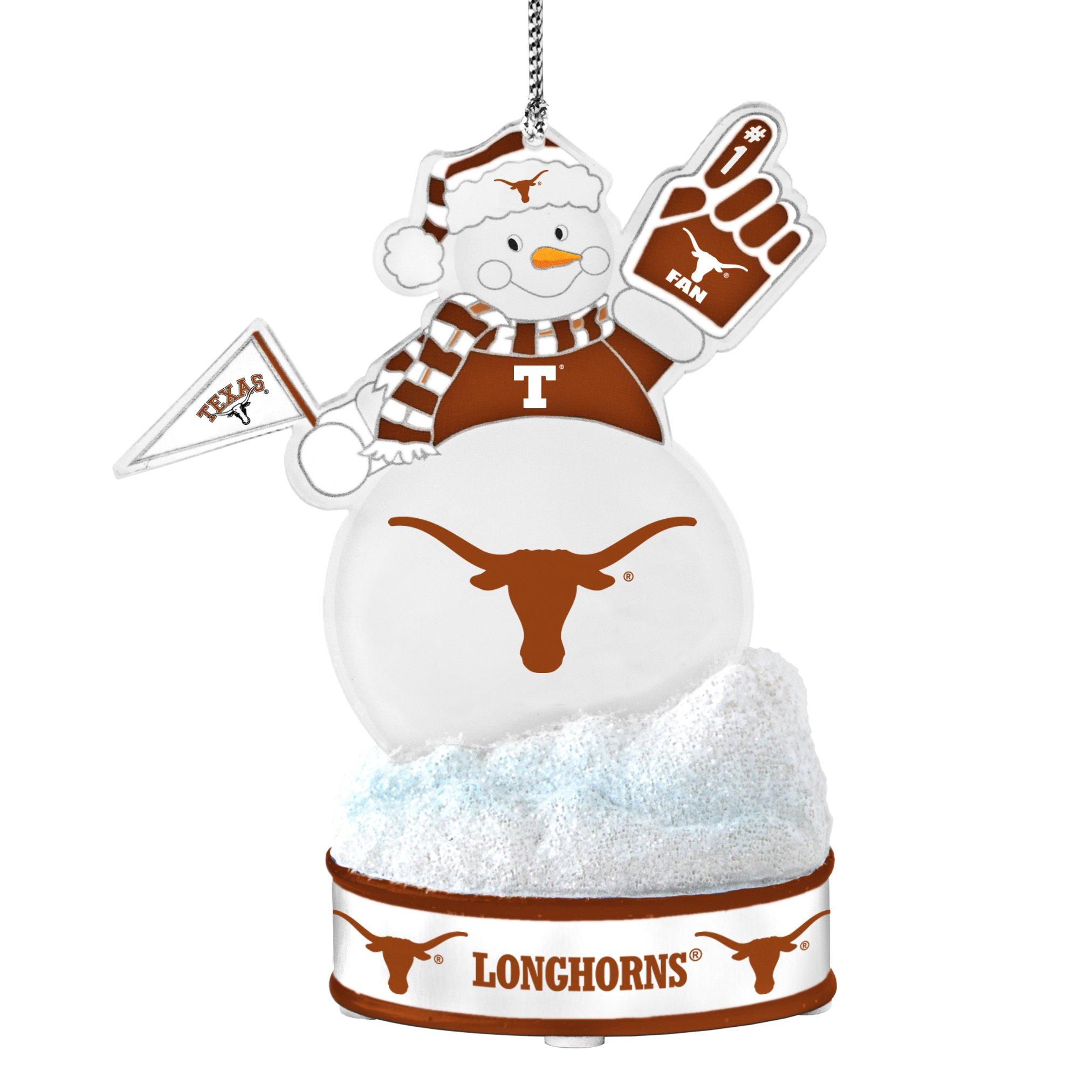 Texas Longhorns Ornament LED Snowman Products