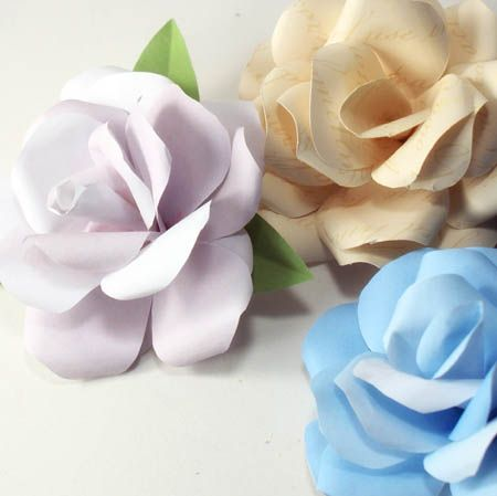 Paper flower templates paper flower tutorial with template saved by love creations floral for Paper flower templates free