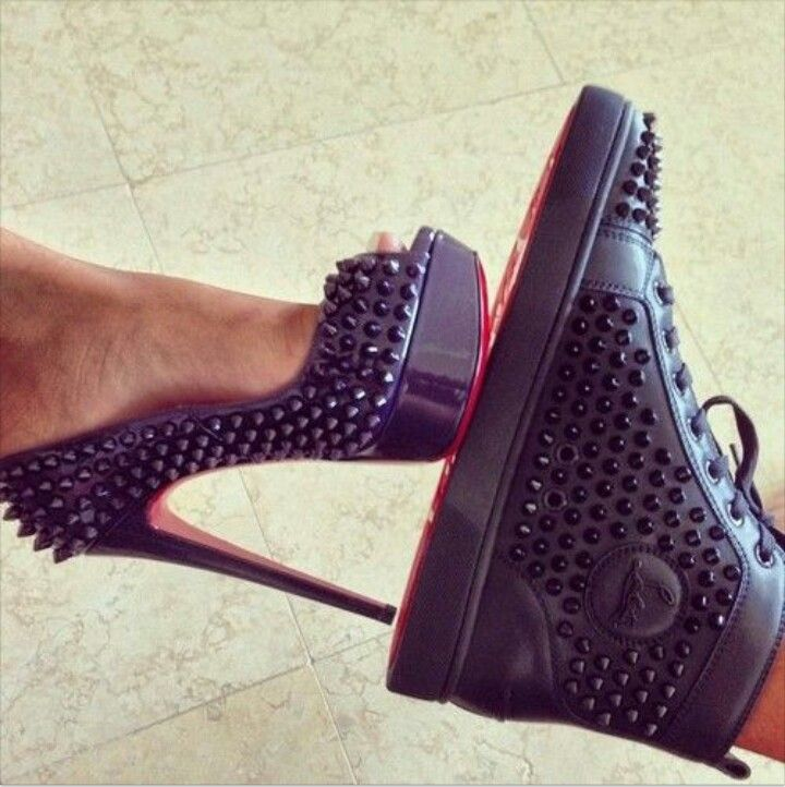 5c4ae0eba94 Red bottoms for him & her   Killer Shoes   How to wear, Fashion, Me ...