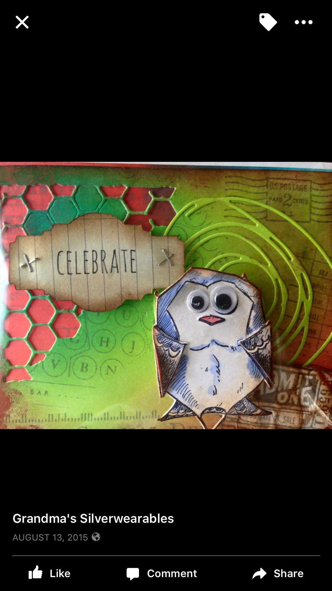 Pin by Karren Robinson on Crazy birds Tim holtz crazy
